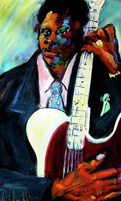 Painting - Blues Boy by Les Leffingwell