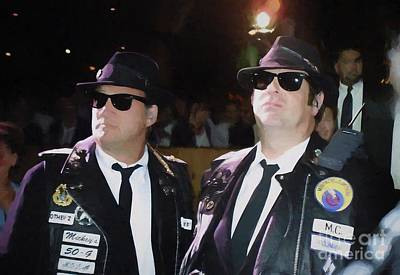 Photograph - Blues Brothers Oil Painting Enlargements by Concert Photos