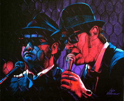 Pastel - Blues Brothers by Robert Korhonen