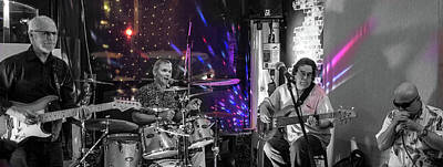 Photograph - Blues Explosion by Jocelyn Kahawai