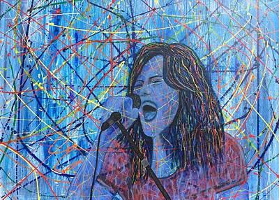Blues Girl Original by Svend Hamann
