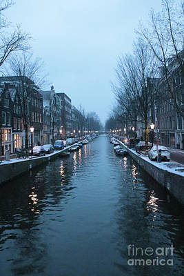 Blues In Amsterdam Art Print by Carol Groenen