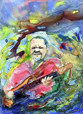 Donny Painting - Blues Is A Natural Fact by Don Seib