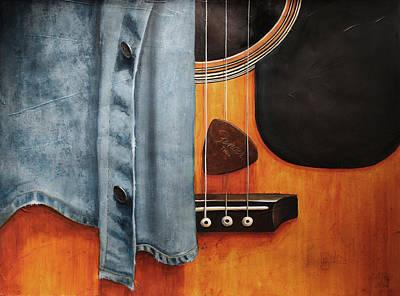 Blues Original by Lorraine Ulen