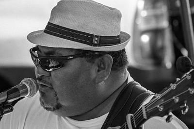 Photograph - Blues Man by Ben Graham