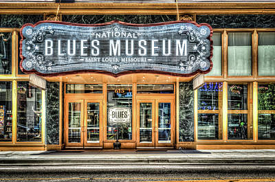 Photograph - Blues Museum by Spencer McDonald