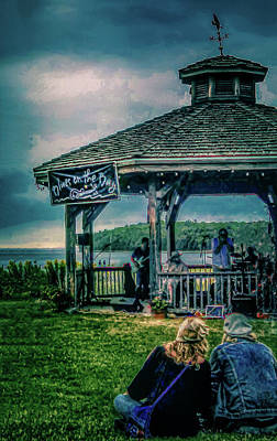 Photograph - Blues On The Bay by Terry Ann Morris