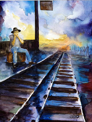 Donny Painting - Blues On The Other Side by Don Seib