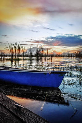 Photograph - Blues On The Water by Debra and Dave Vanderlaan