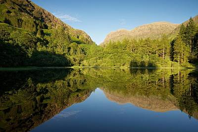 Photograph - Blues Skies In Glencoe by Stephen Taylor