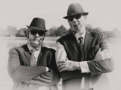 Photograph - Blues Walkers by Art Cole