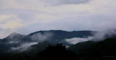Photograph - Bluest Blue Ridge by Kathy Barney