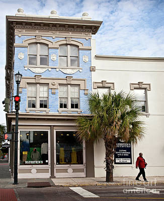 Photograph - Bluesteins Menswear Charleston Sc  -7434 by John Bald