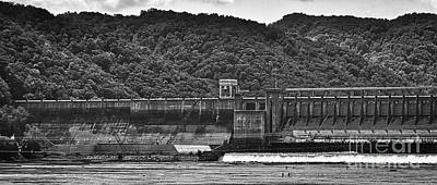 Photograph - Bluestone Dam Hinton West Virginia by Kerri Farley