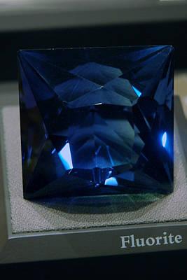 Photograph - Bluetiful Fluorite by LeeAnn McLaneGoetz McLaneGoetzStudioLLCcom