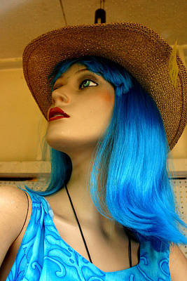 Photograph - Bluewn Away by Jez C Self