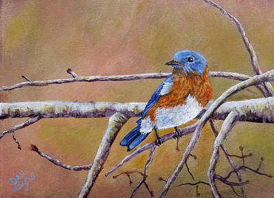 Painting - Bluey by Dan Wagner