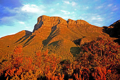 Photograph - Bluff Knoll At Sunset Wa by Tony Brown