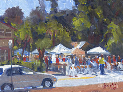 Bluffton Art Fair Art Print