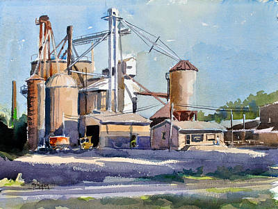 Bluford Grain Co. Original by Spencer Meagher