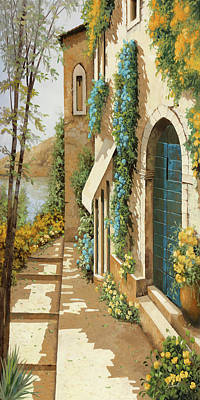 Paintings - Blugialloblu by Guido Borelli