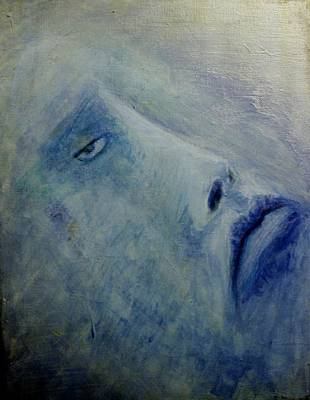 Badass Painting - Bluish  by Dawn Pascale