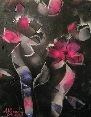 Blumen Aus Berlin Art Print by Andrea Noel Kroenig
