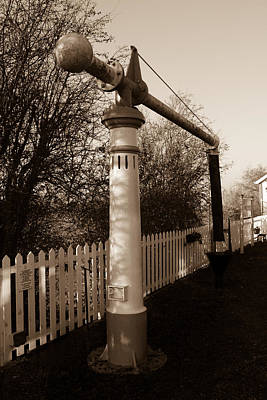 Swindon Photograph - Blunsdon Station At Swindon And Cricklade Railway by Steven Sexton