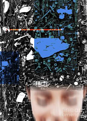 Digital Art - Blur by Fei A