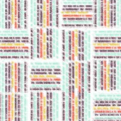 Algorithmic Digital Art - Blurred Lines by Gaspar Avila