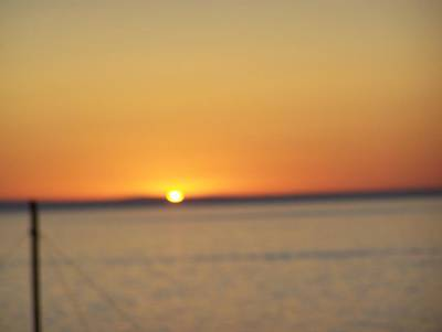 Photograph - Blurred Sunset by Pamela Walrath