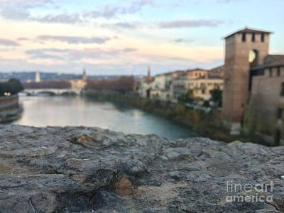 Photograph - Blurred Verona by Donato Iannuzzi
