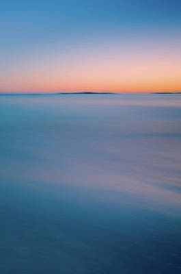Photograph - Blurry Ocean Sunrise by Anthony Doudt