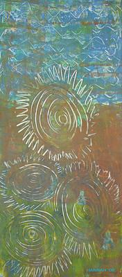 Blusey Print by Hannah Lasky