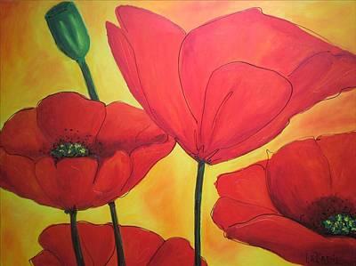 Painting - Blush by LaBadie