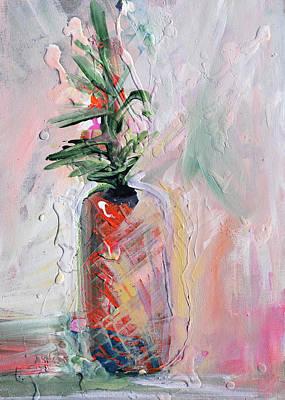 Painting - Blush Pineapple by Karen Ahuja