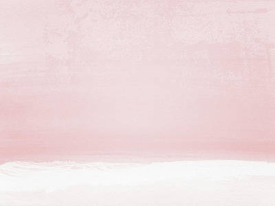 Soothing Wall Art - Painting - Blush Sunset- Art By Linda Woods by Linda Woods