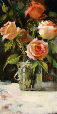 Painting - Blushing by Chris  Saper