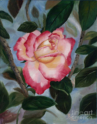 Painting - Blushing Delight by Brenda Thour