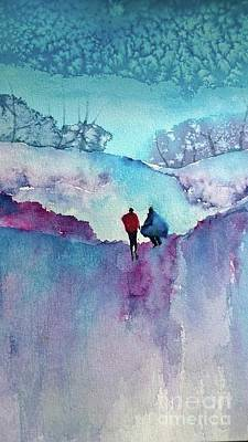 Painting - Blustery by Eunice Miller