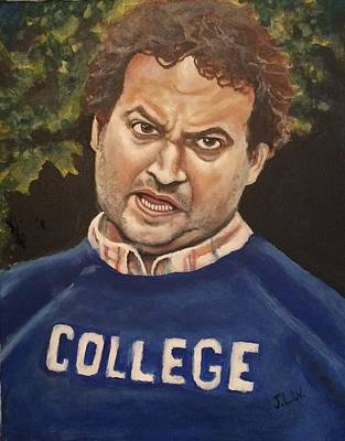 Painting - Bluto by Justin Lee Williams