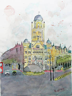 Painting - Bmc Mumbai by Keshava Shukla