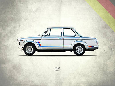 Motor Photograph - Bmw 2002 Turbo by Mark Rogan