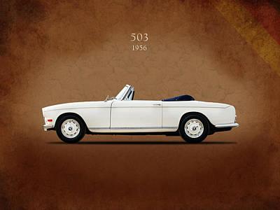 Bmw Vintage Cars Photograph - Bmw 503 1956 by Mark Rogan