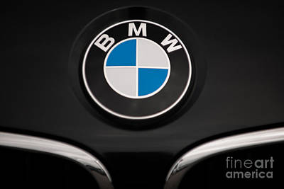Photograph - Bmw Badge Of Honor by Dale Powell