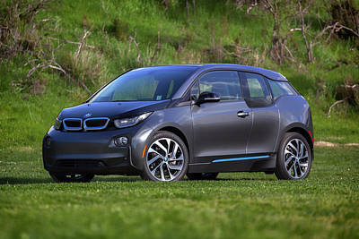 Photograph - #bmw #i3 #print by ItzKirb Photography