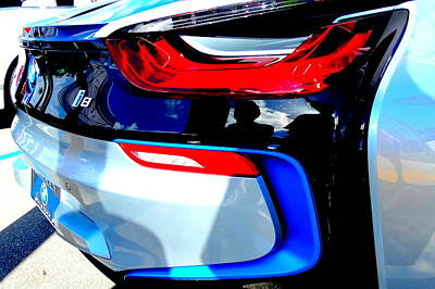 Louis Meyer Photograph - Bmw I8 by Louis Meyer