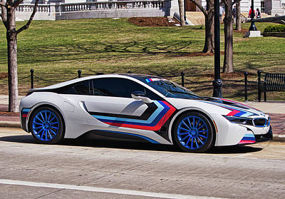 Photograph - Bmw I8 by Steven Ralser
