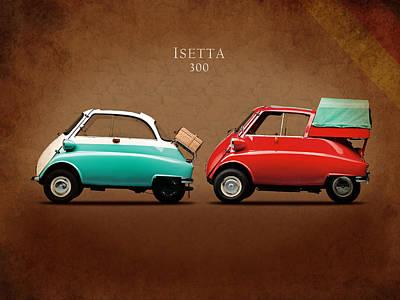 Bmw Vintage Cars Photograph - Bmw Isetta 300 by Mark Rogan