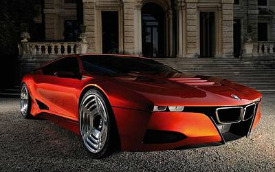 Bmw M1 Homage Concept 2  Art Print